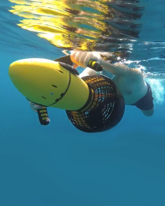 sea scooter sous-marin deep 1 electrique