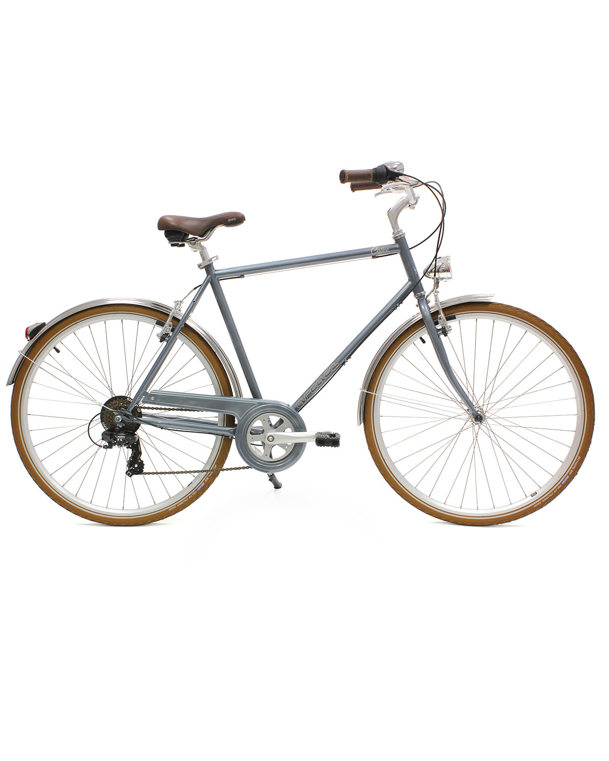 vélo homme coffee s6 homme gris arcade cycles