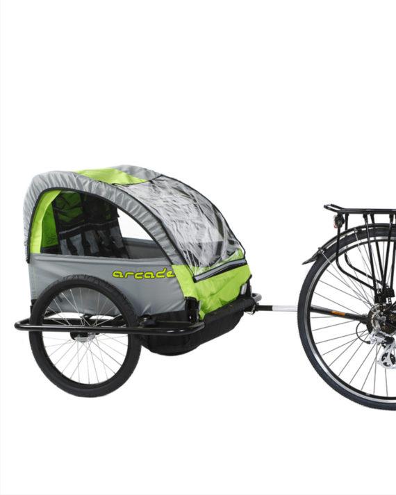 remorque vélo enfant baby van arcade cycles