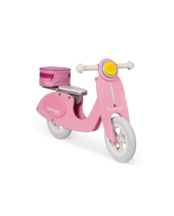 Draisienne scooter rose Mademoiselle by Janod