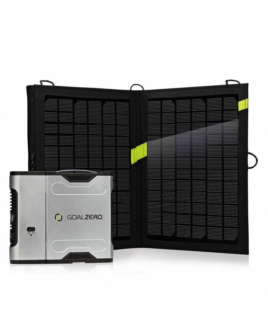 Kit Chargeur Solaire Sherpa 50 by Goal Zero