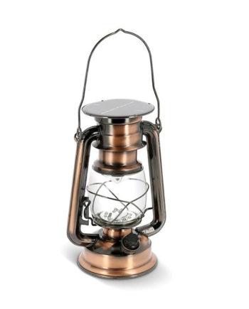 Lampe Tempête Solaire et USB by N&D