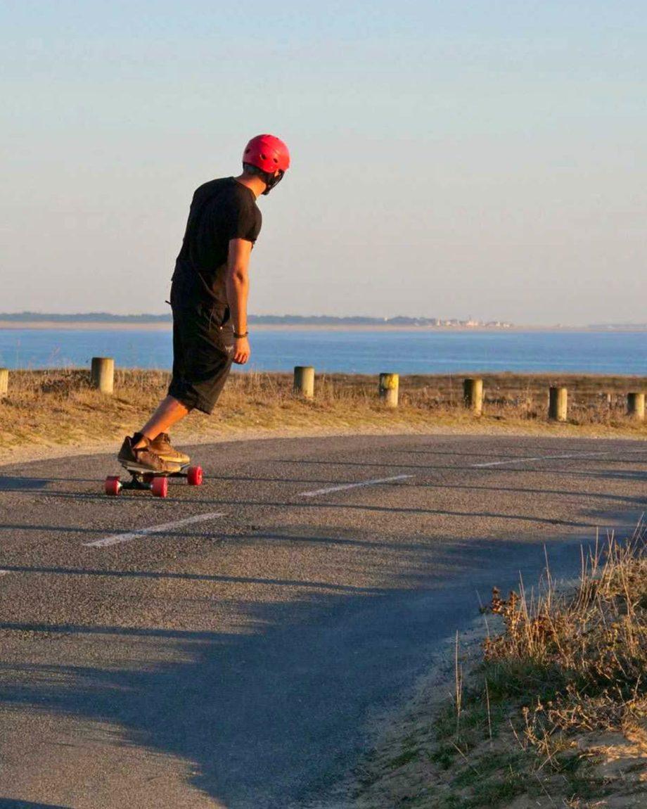 Skate Longboard électrique Curve V3 by EVO-SPIRIT
