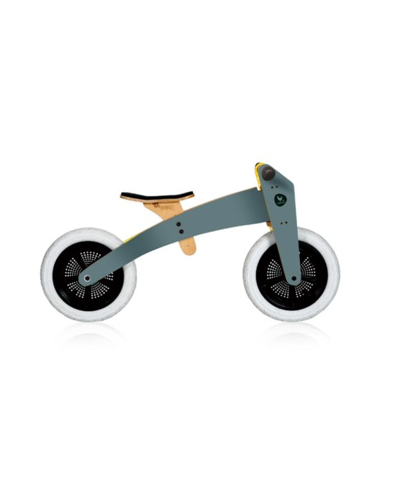 Draisienne Wishbone bike en bois 2 en 1 grise by Wishbone