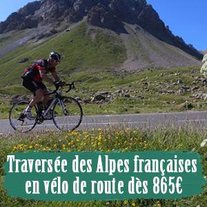 Alpes à vélo en groupe pas cher