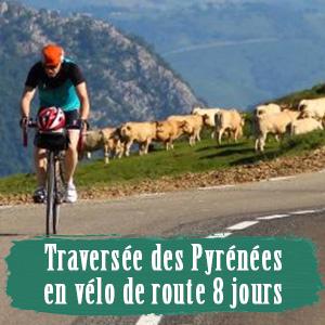 Traversée des pyrenées en vélo de route