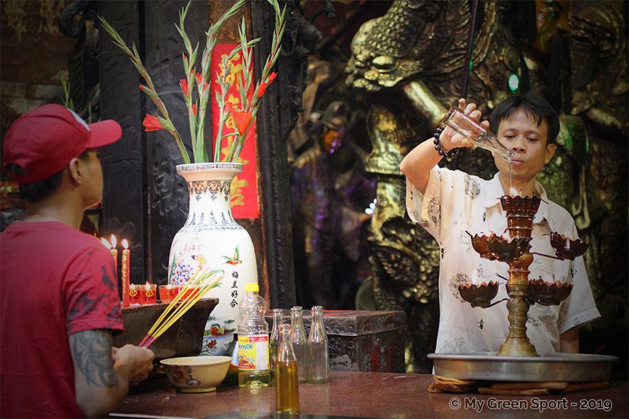 Offrandes - Temple de l'Empereur de Jade