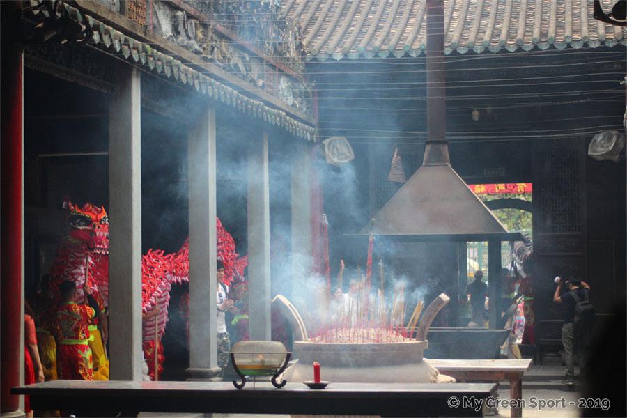 Fête du Tët - Pagode de Thiên Hâu