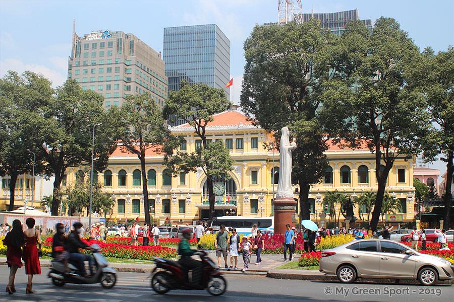 Le quartier de la Poste Centrale Ho Chi Minh Ville