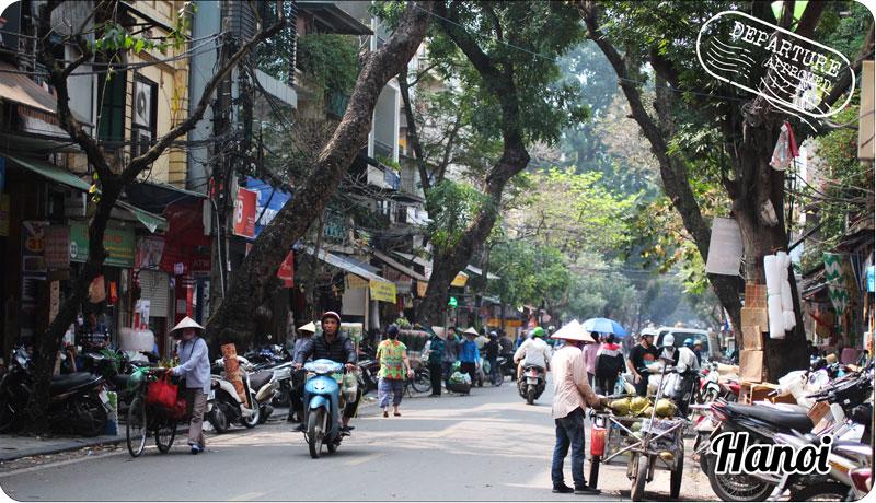 Voyager autrement Vietnam : Centre ville Hanoi