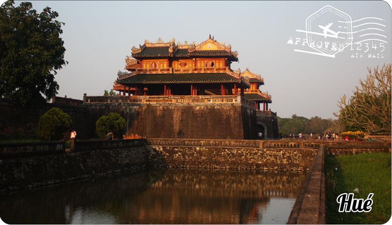 Voyager autrement Vietnam : citadelle de Hué