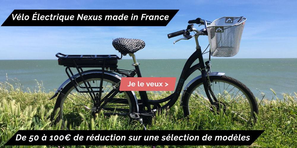 vélo électrique nexus made in france arcade cycles fabriqué en france