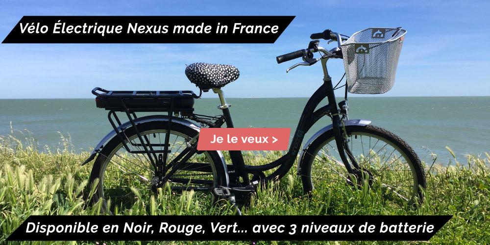 vélo électrique de ville fabriqué en France