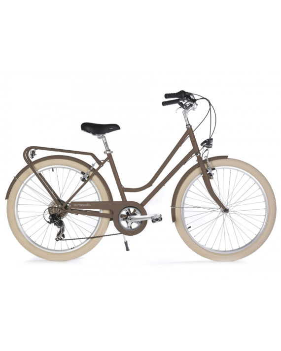 Vélo de ville Renaissance 6 Vitesses fabriqué en France par Arcade Cycles Chataigne