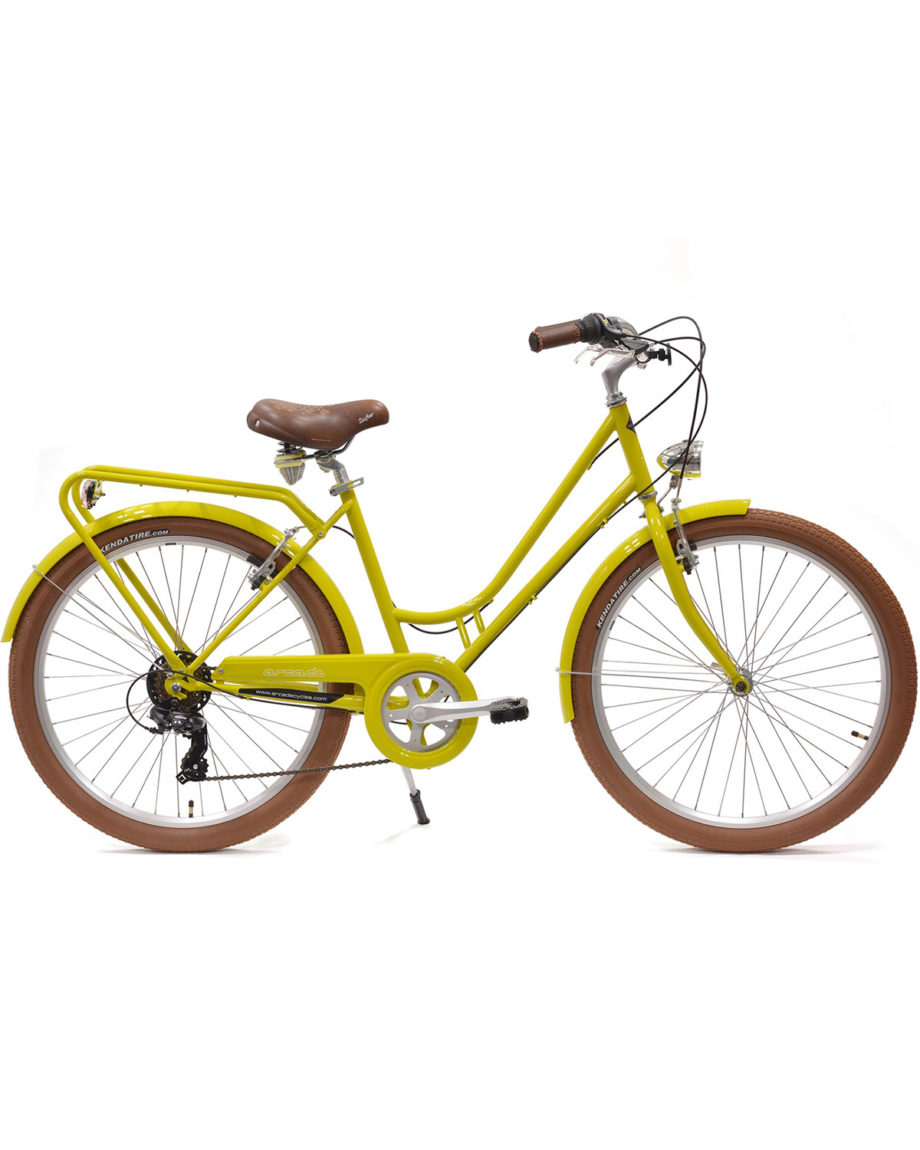 Vélo de ville Renaissance 6 Vitesses fabriqué en France par Arcade Cycles Curry