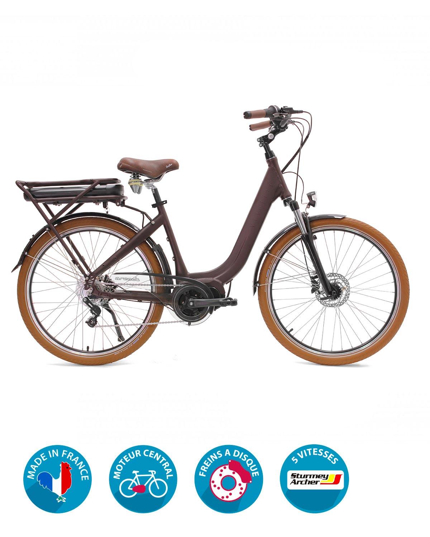 vélo électrique vitality vintage arcade cycles