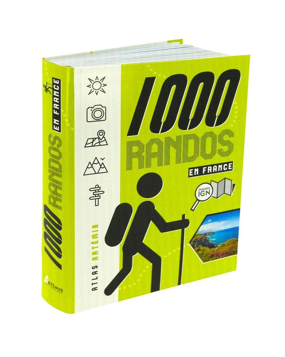 Livre 1000 randos en France 2020
