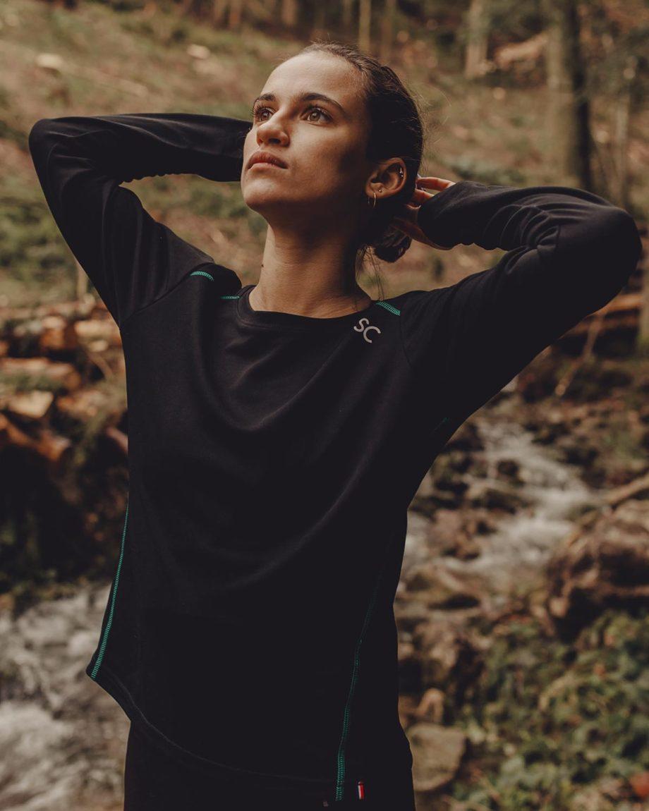 T-shirt manches longues Sous-couche thermique femme