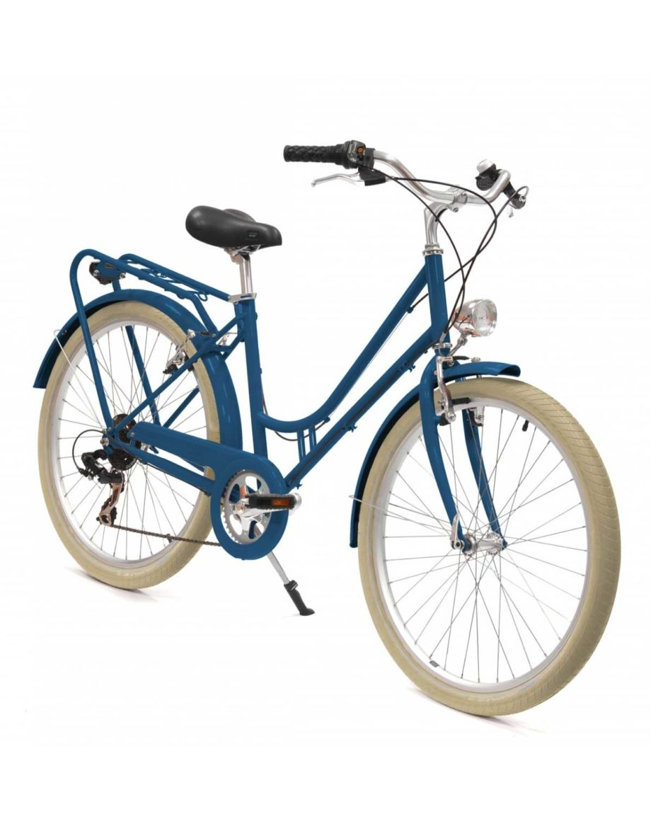 velo renaissance arcade cycles bleu ocean mat