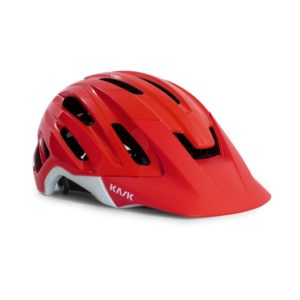 casque velo rouge kask
