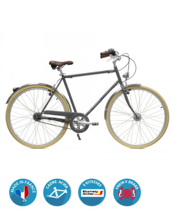 vélo de ville S5 Sturmey coffee homme arcade cycles