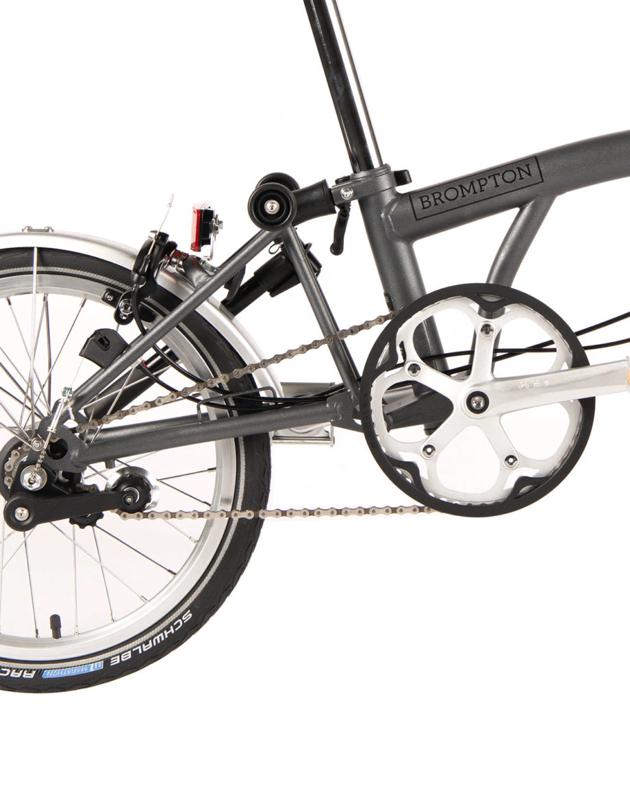 Vélo pliant Brompton M6L 6 vitesses Sturmey Metallic Graphite