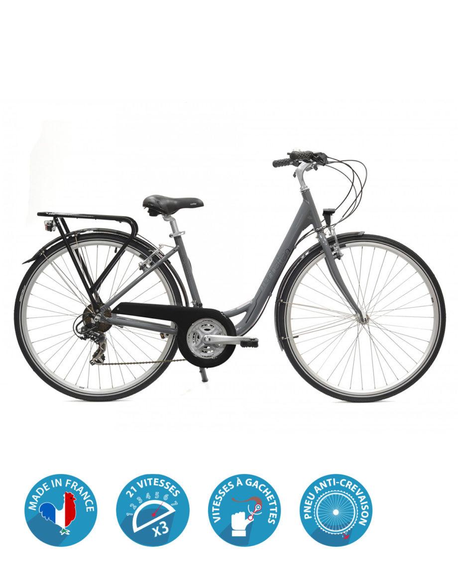 Vélo VTC Femme Manhattan Arcade cycles Made in France