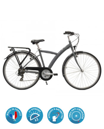 Vélo VTC Homme Manhattan Arcade cycles Made in France