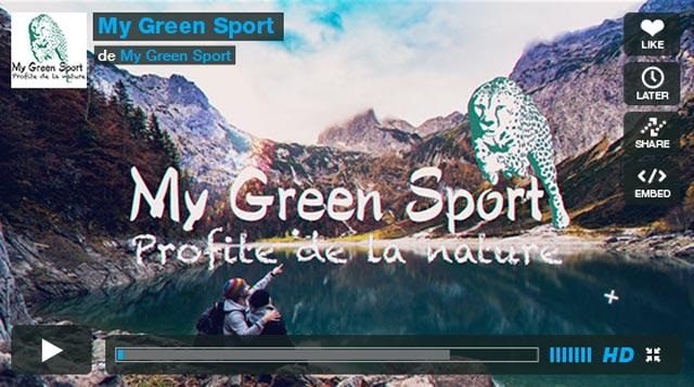 My green sport la boutique du sport durable