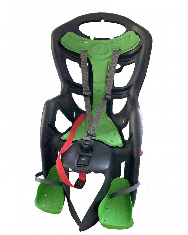 Porte bébé arrière fixation sur Porte-bagage charge max 22kg