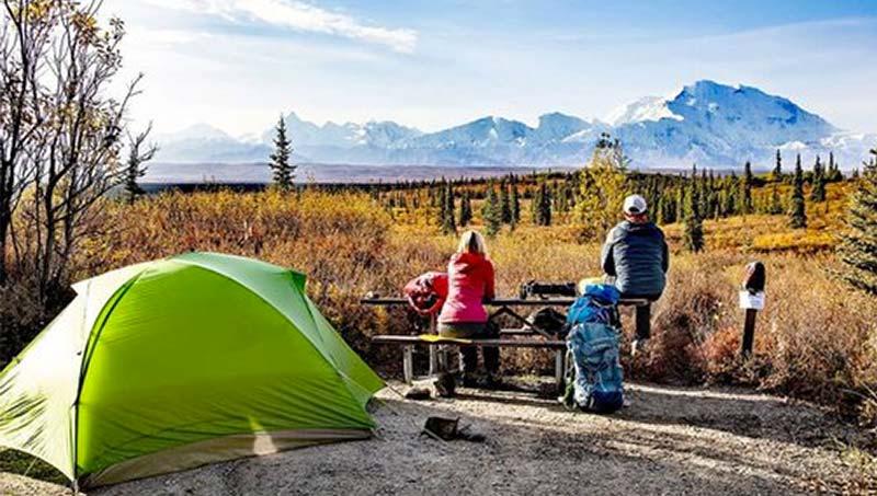 tente camping vaude