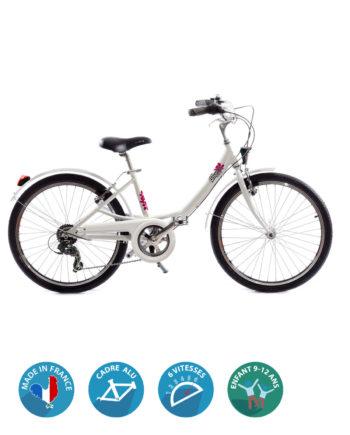 Vélo Fille Class Alu 24 pouces fabriqué en France - Arcade cycles