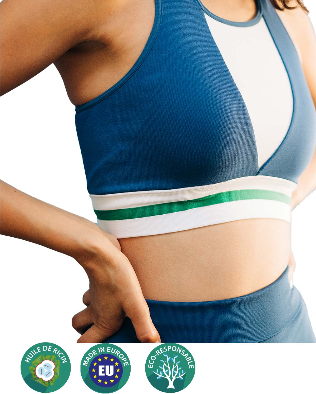 brassière yoga active greenfil®