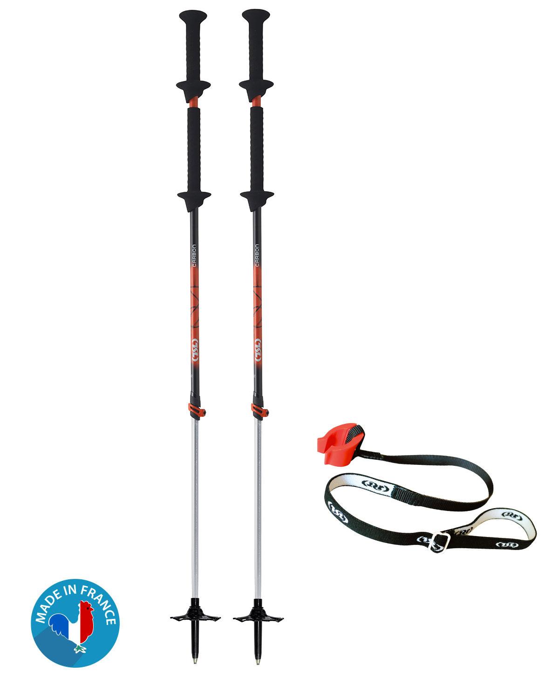 Bâtons de Ski Rando Move Carbon alu adjust 2 TSL