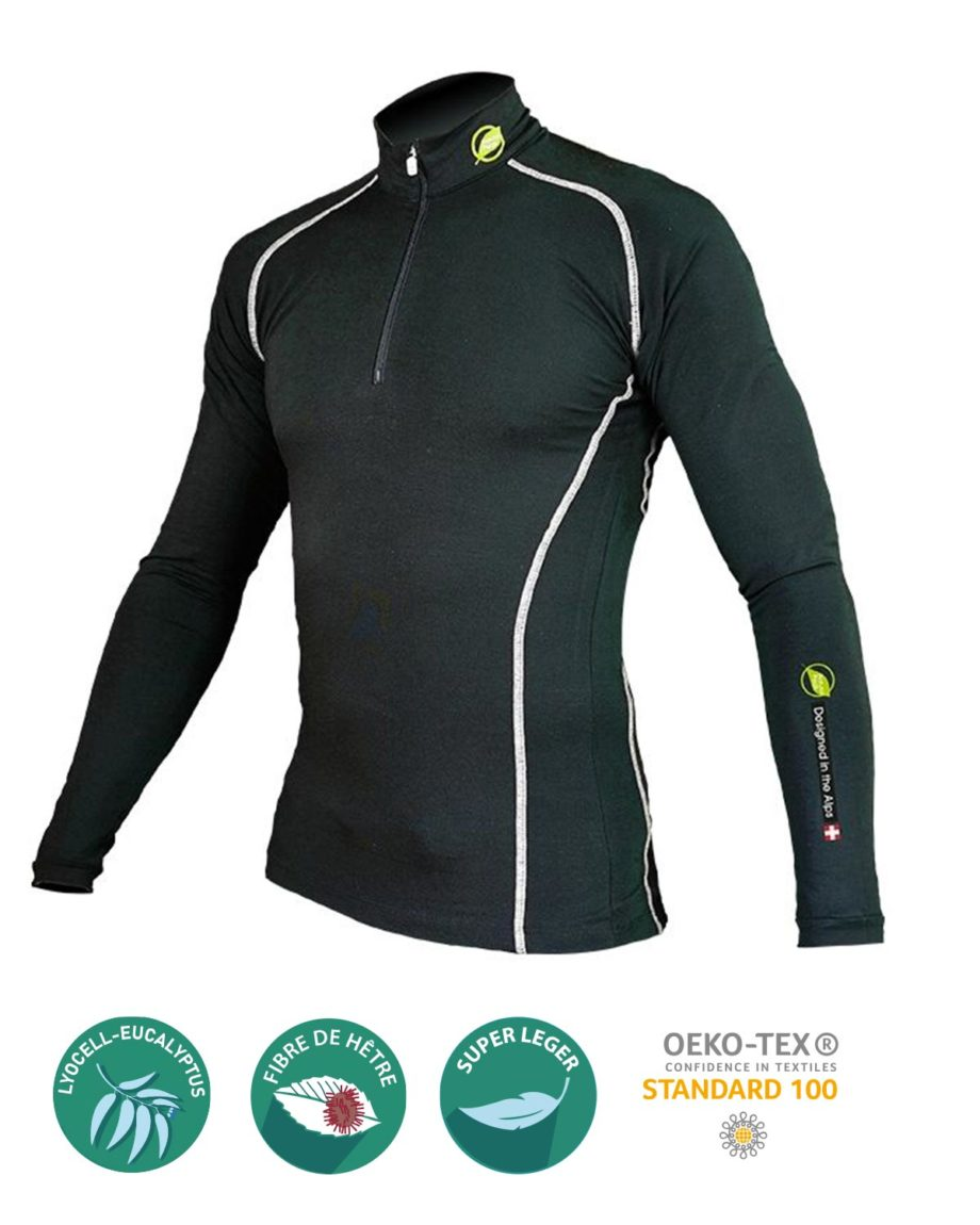 base layer homme pointe blanche