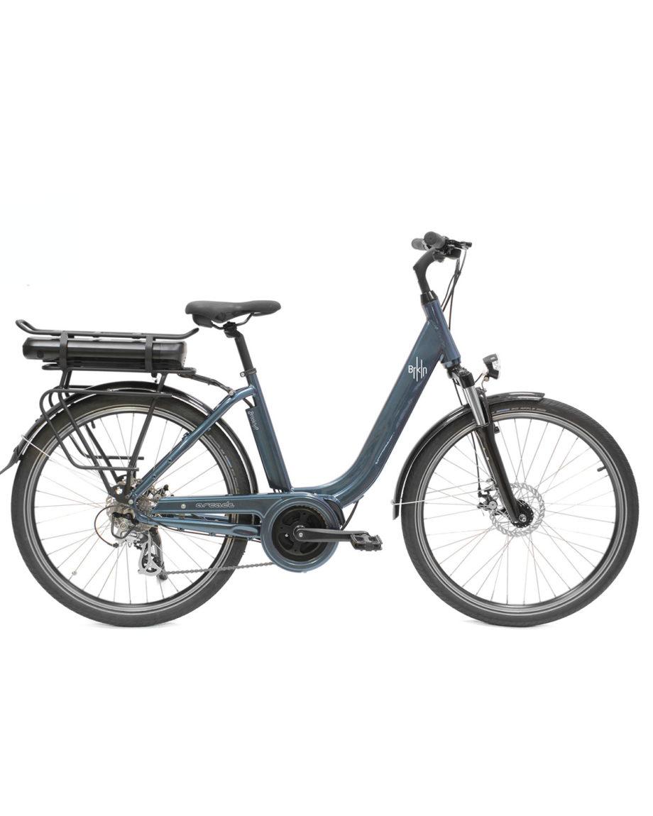 vélo électrique brooklyn arcade cycles bleu metallic