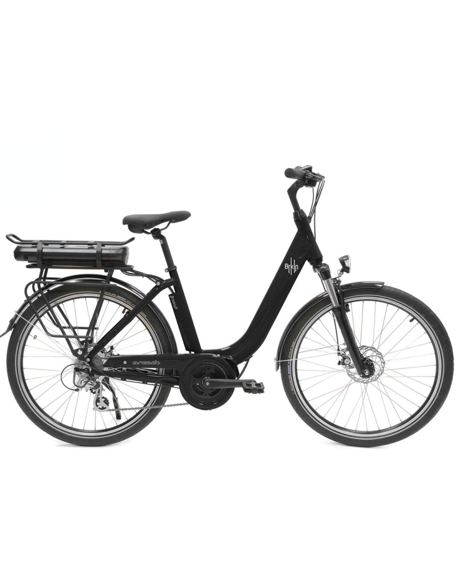 vélo électrique brooklyn noir arcade cycles